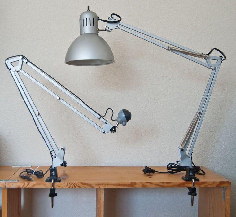 IKEA Black Multi Angle Desk Lamp with