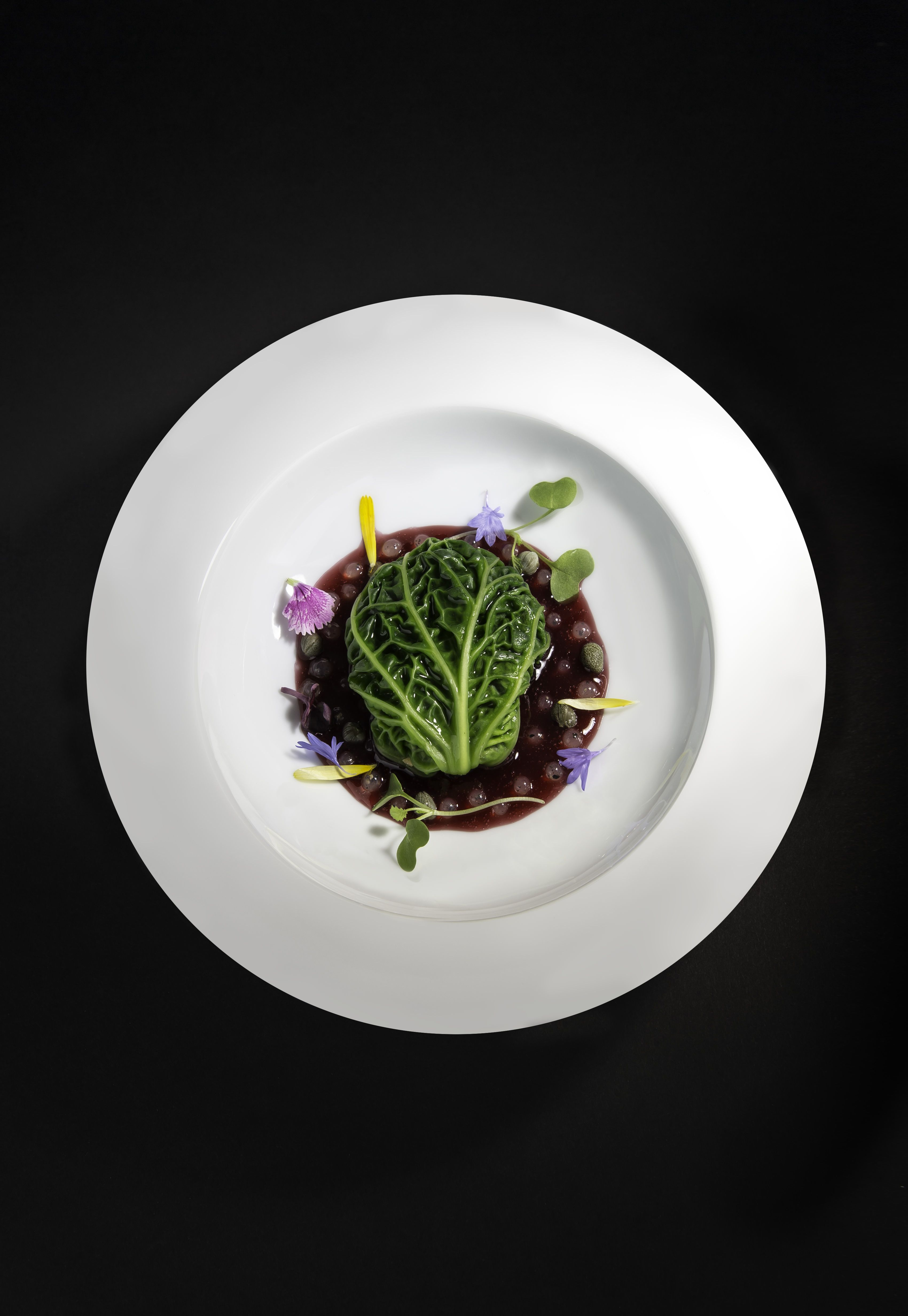 Ve arian Risotto & Pearls—a recipe featured in our new cookbook