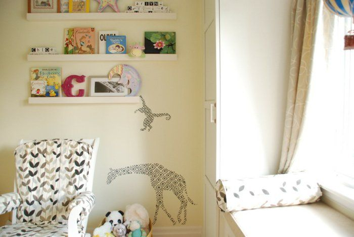 Bilderleiste Dekorieren kinderzimmer mit ornamente bilderleiste dekorieren
