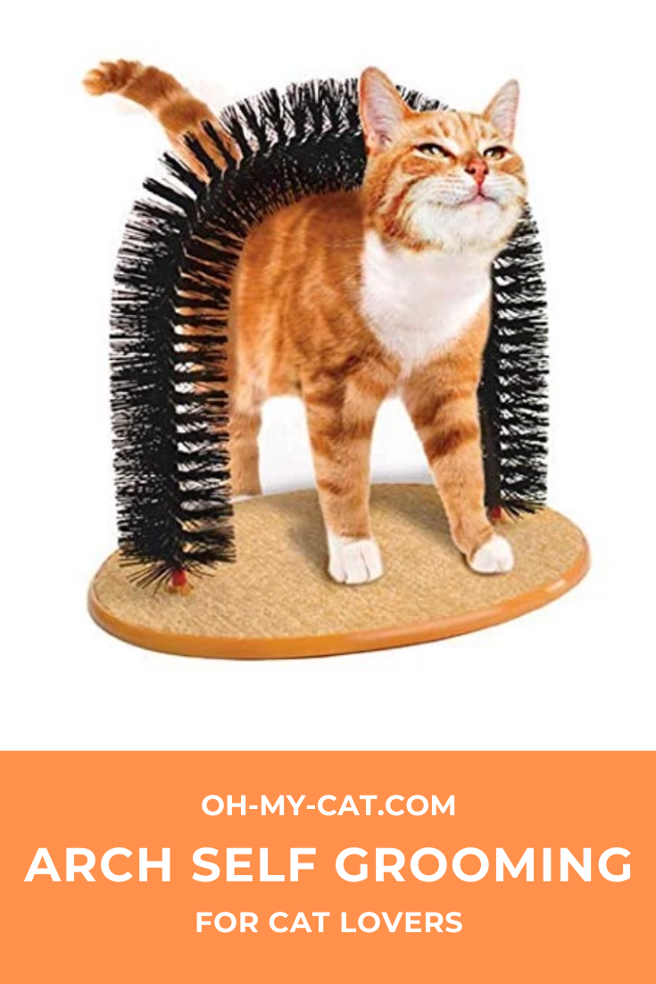 Cats love it a self groomer & massager all in one! Helps