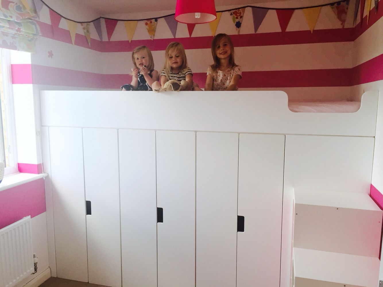 Loft Bed Stuva Hack Bed With Storage Bornevaerelser Pinterest