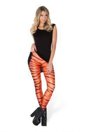 Tiger Stripes Leggings #stripedleggings