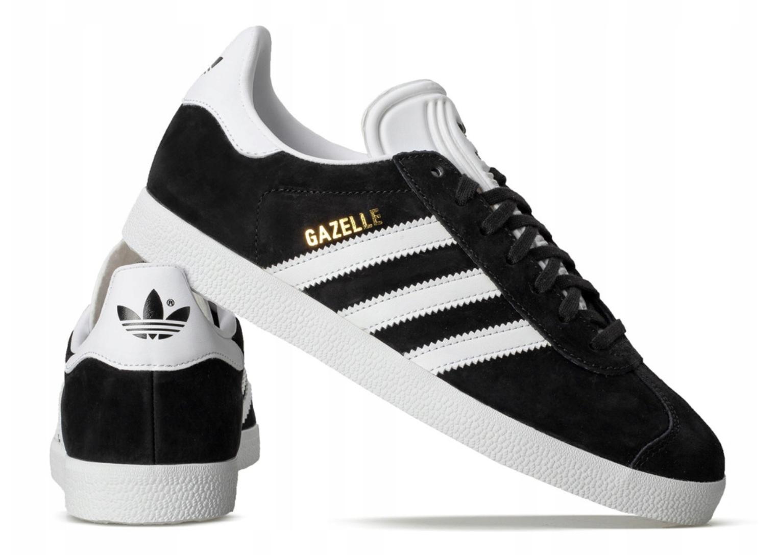 Adidas Gazelle Bb5476 Sportowe Buty Meskie Czarne 8145322055 Oficjalne Archiwum Allegro Adidas Gazelle Mens Adidas Superstar Sneaker Adidas