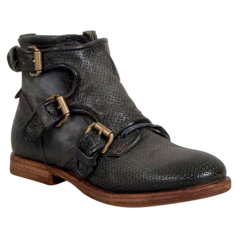 A S 98 Women S Tristen Monk Strap Ankle Boot Fashion Shoes Online Boots Fashion Shoes