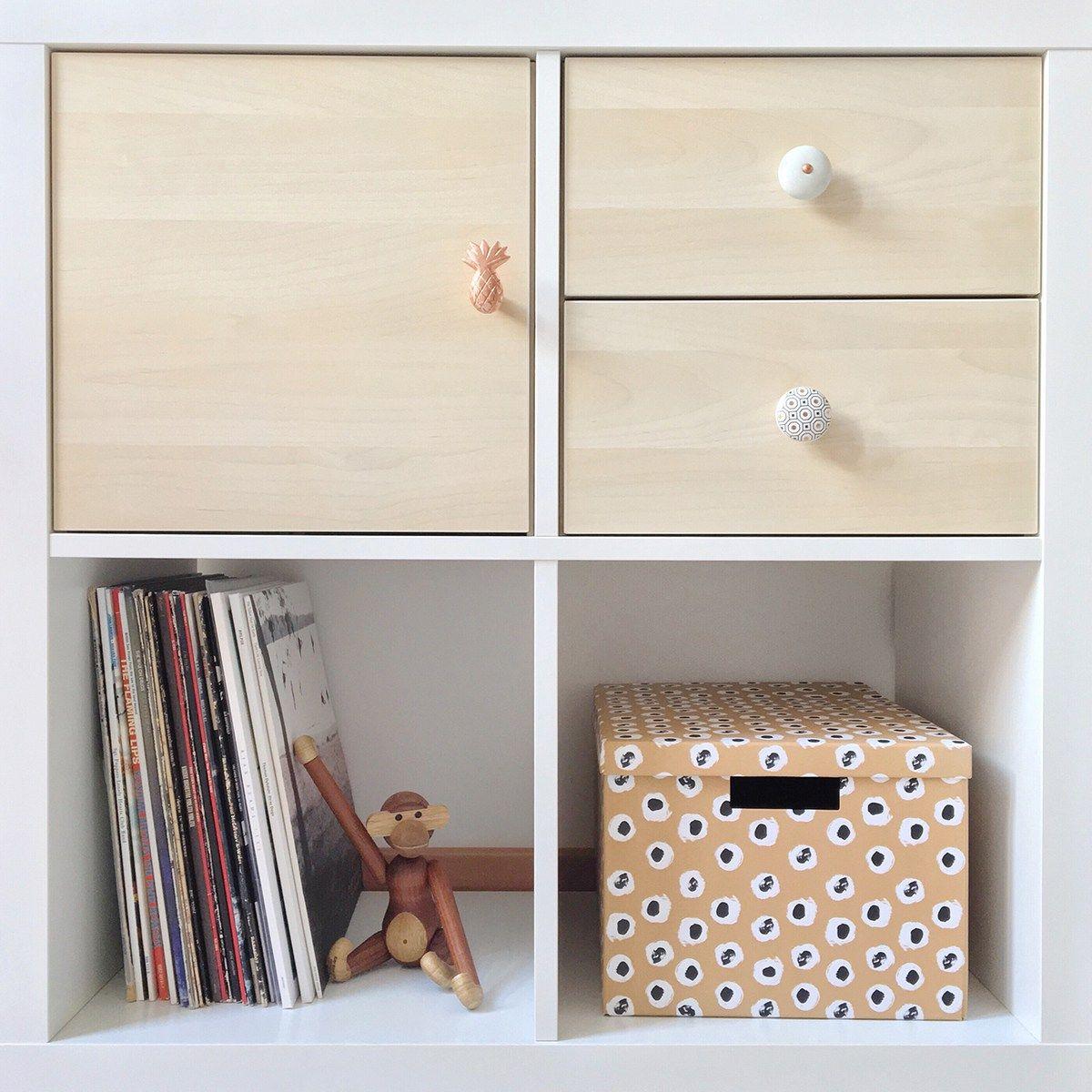 IKEA PERFEKT Shelf, birch veneer