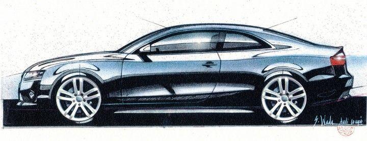 Audi A Design Sketch By Walter De Silva Visionaries Designs - Walter audi
