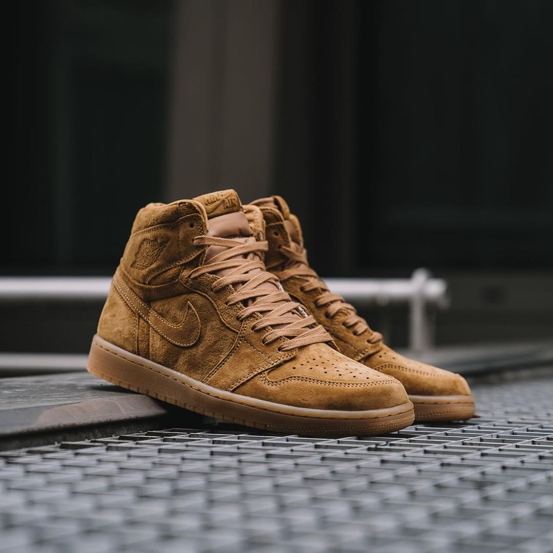 f4d020ae00cd Air Jordan 1 Retro High OG « Wheat Pack »