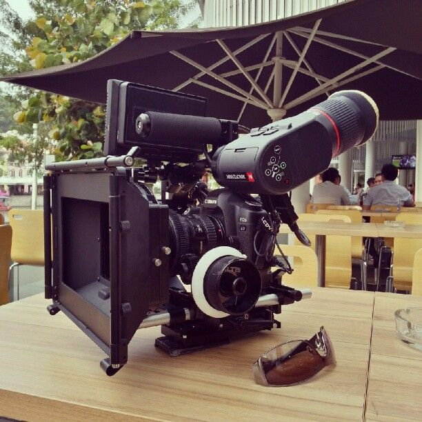 Proud of my new camera rig. Held up great for the shoot. By @Clayton Farr Farr Lai