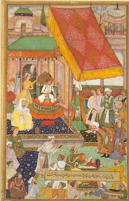 Akbarnama : Paintings of Mughal Costumes, Ornaments and Cultural History of India (With images) | Mughal paintings, Mughal miniature paintings, Miniature painting