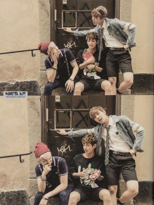 BTS | RAP MONSTER  V and JHOPE