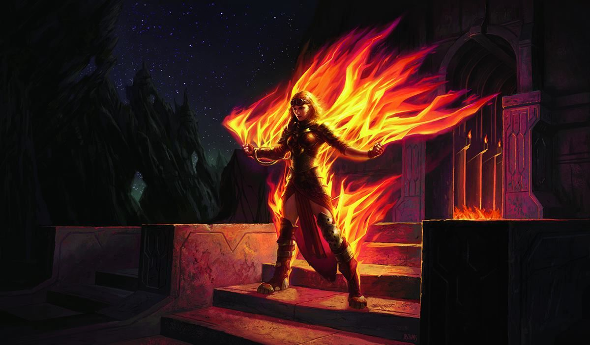 The Planeswalkers of Magic Origins - Chandra