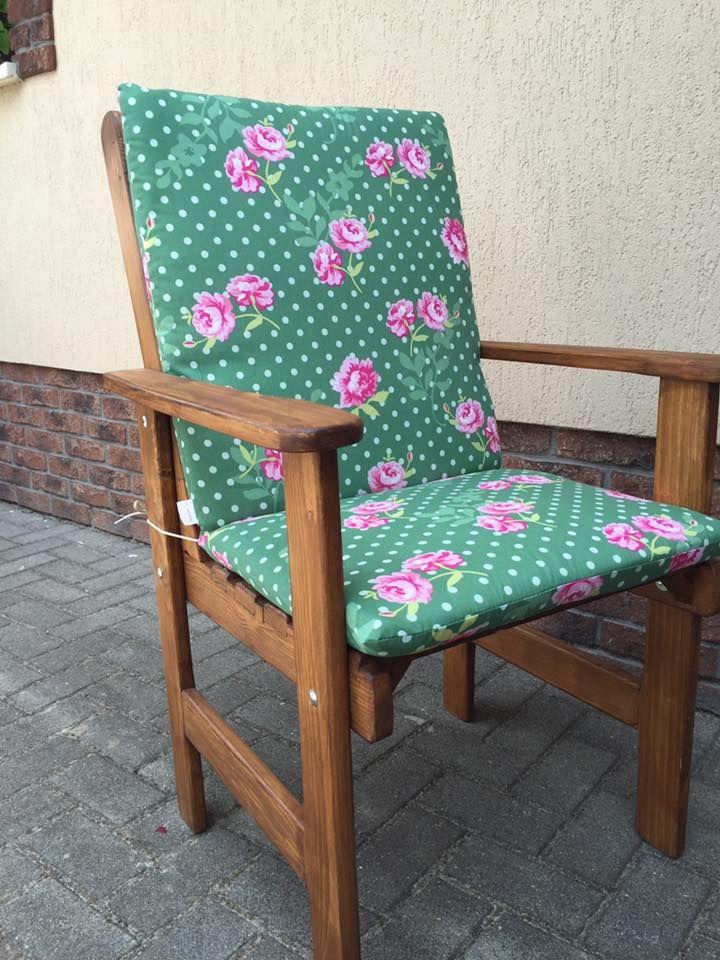 Niedriglehner Auflage   Holz Garten Möbel   Gartenstühle