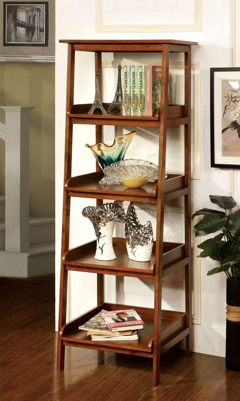 Furniture of america tier shelf cmac jaegen collection