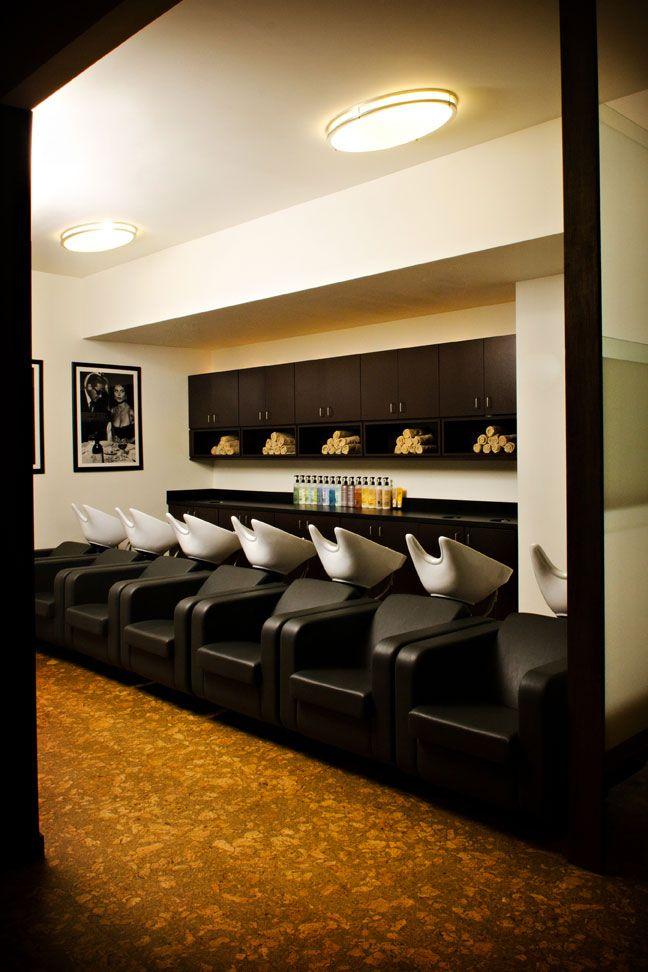 Salon shampoo station salon ideas pinterest salons for Wash hair salon