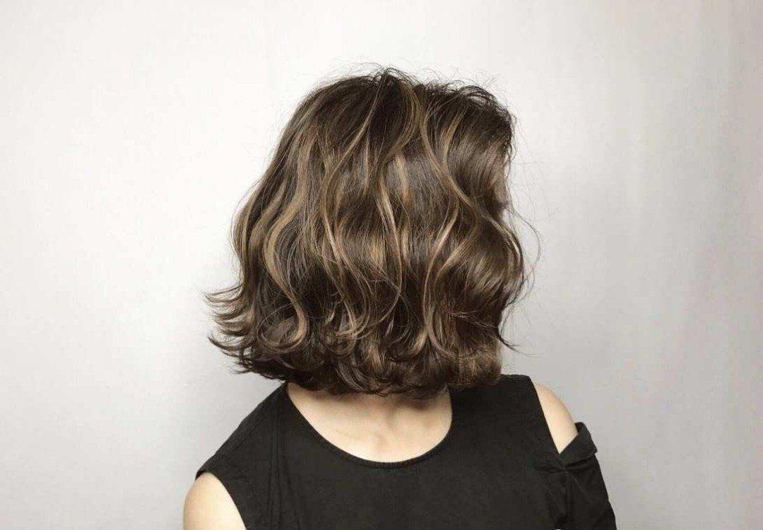 Medium Length Digital Perm Digital Perm Permed Hairstyles Hair Styles