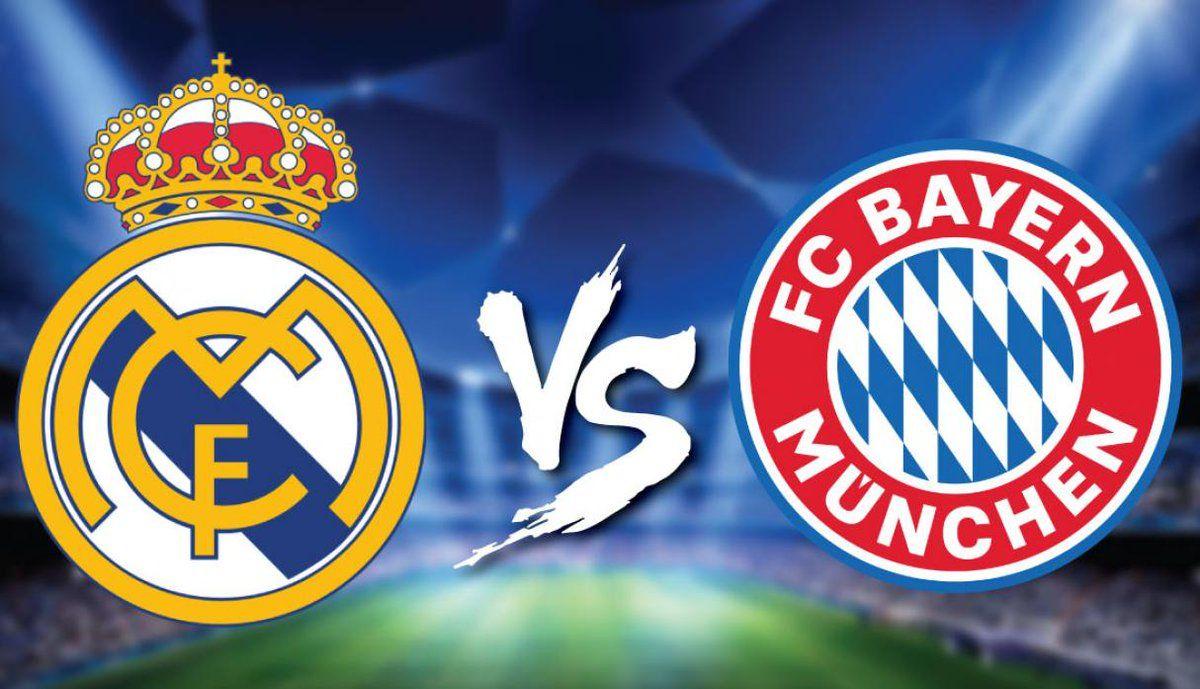 En que canal juega Real Madrid vs Bayern en Vivo semifinal