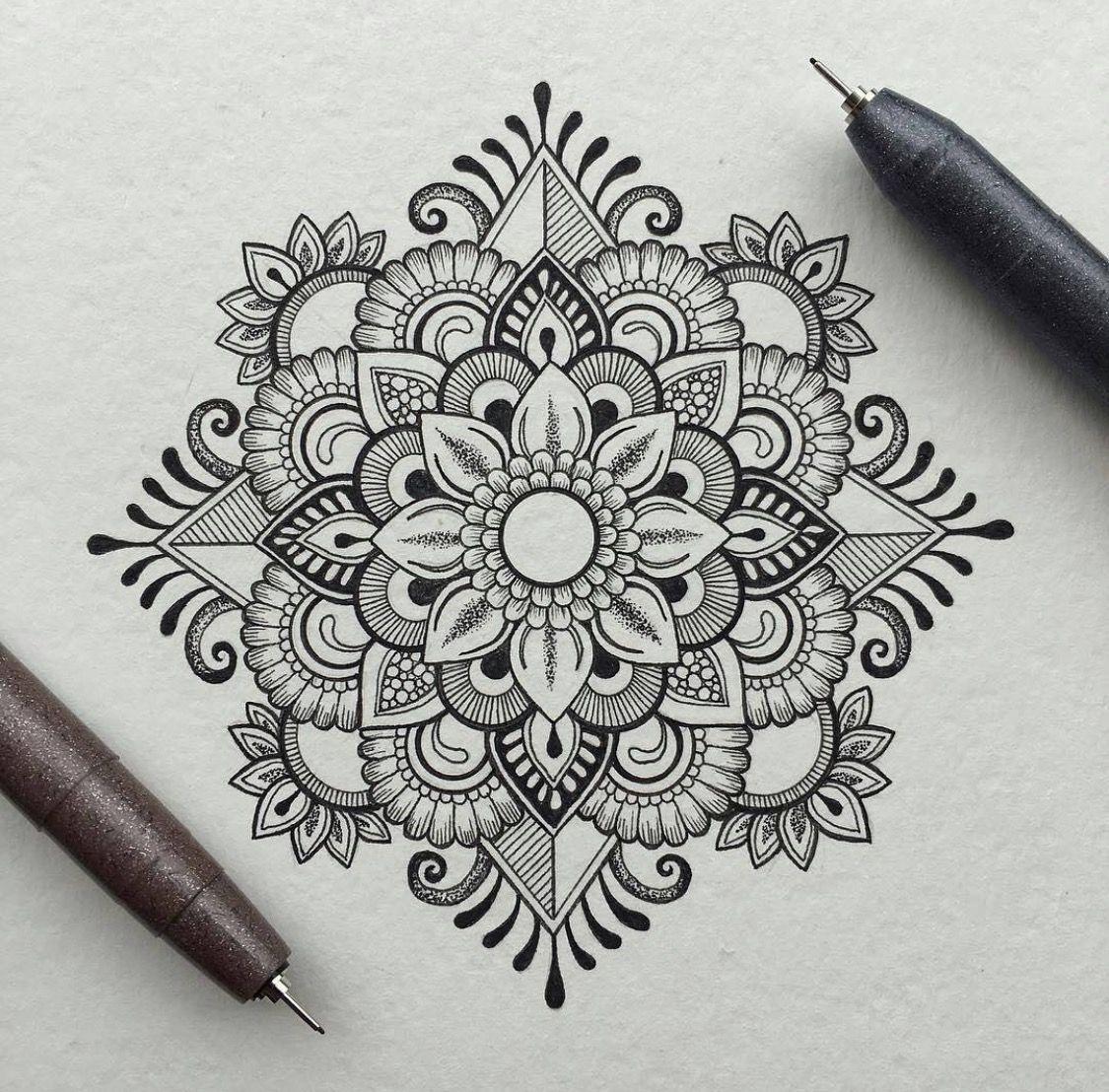 Мехенди картинки для срисовки