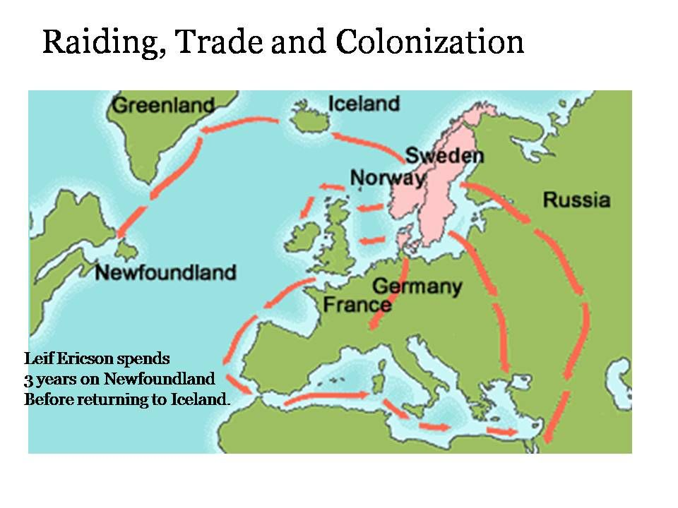 History Oceanography Vikings The Trade Routes Used By The