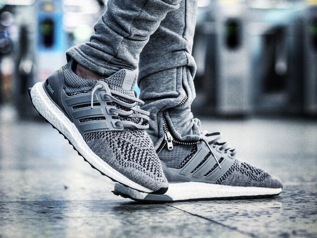 Adidas Ultra Boost Wool Grey 2015 By Anson1019 With Images Urban Style Sneakers Adidas Ultra Boost Adidas Ultra Boost Men
