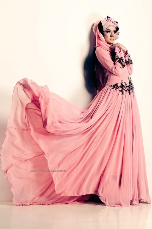 http://abayatrade.com AQAR #Hijab Dress.   Hijab Dresses   Pinterest
