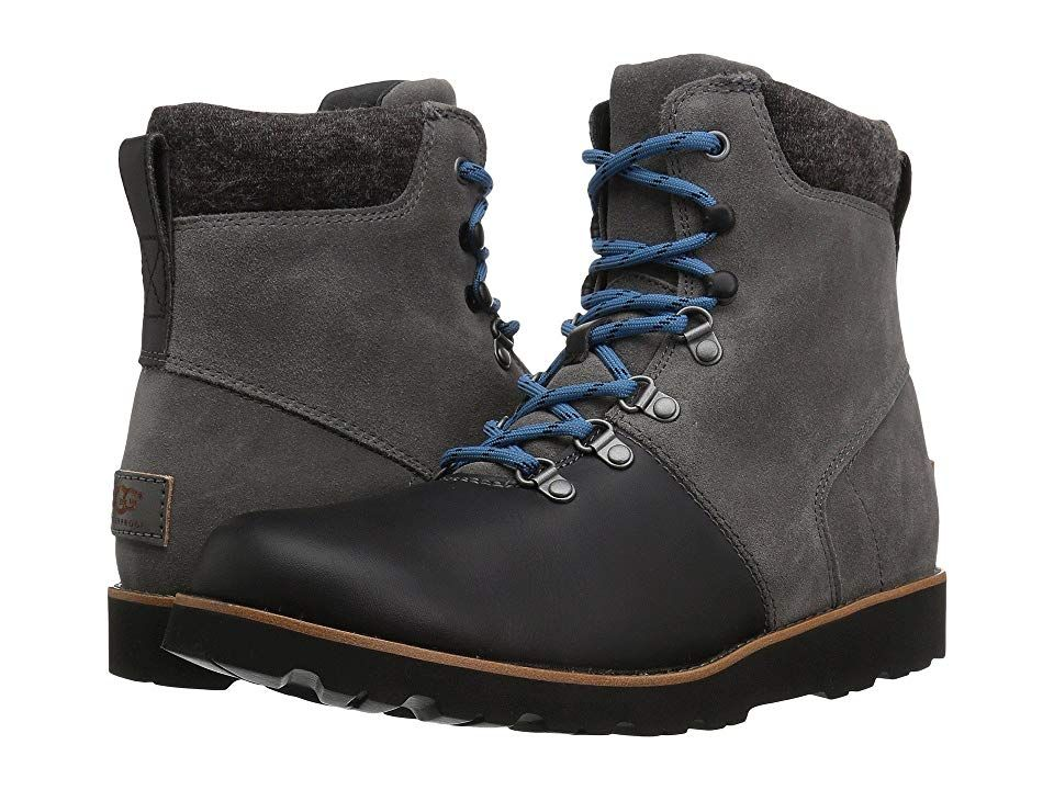 b0d6e331ee0 UGG Halfdan (Charcoal) Men's Boots. Tackle the great outdoors with ...