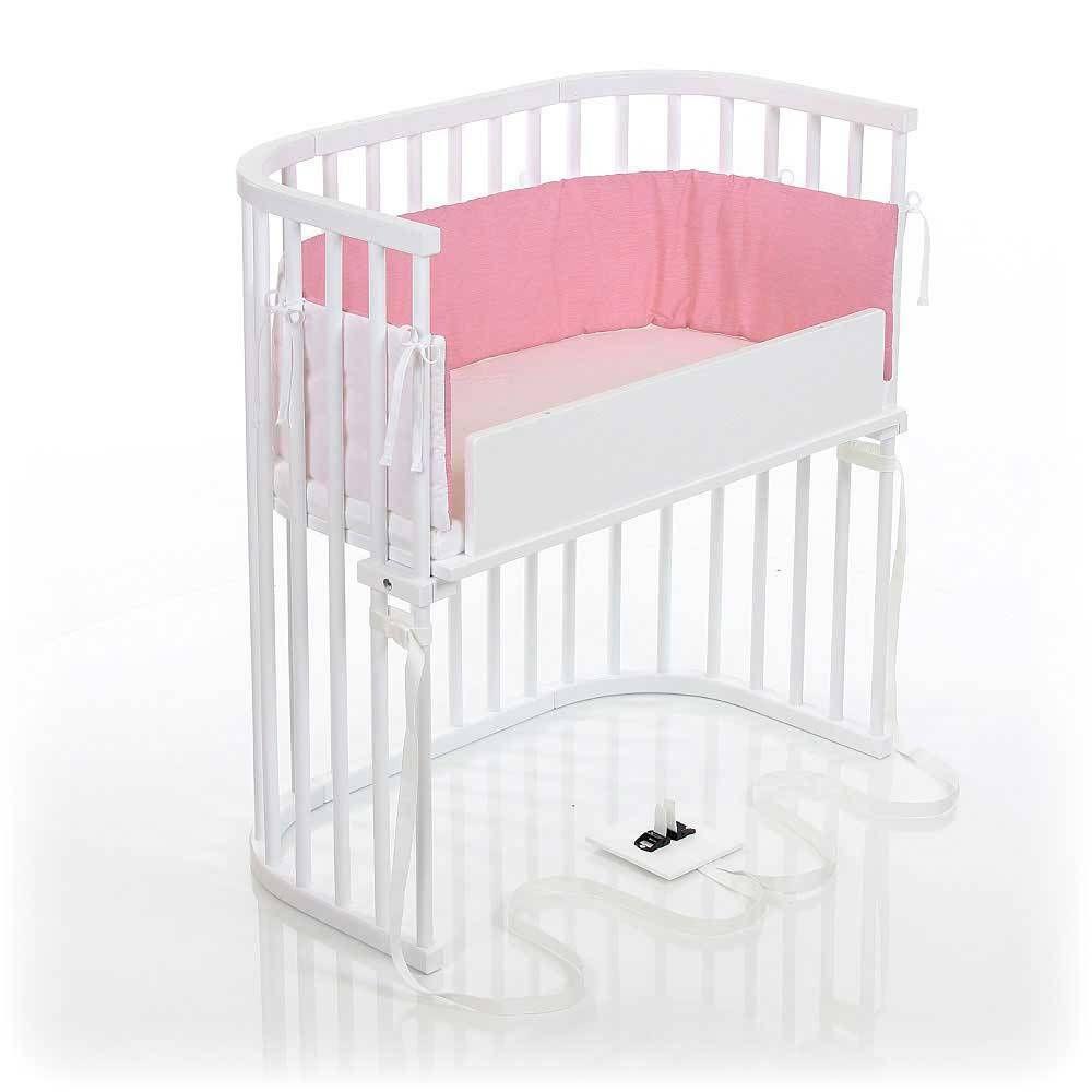 Babybay Bedside Sleeper Crib in Pure White   Cribs Kids ...