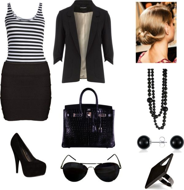 Business, created by paigy59828 on Polyvore