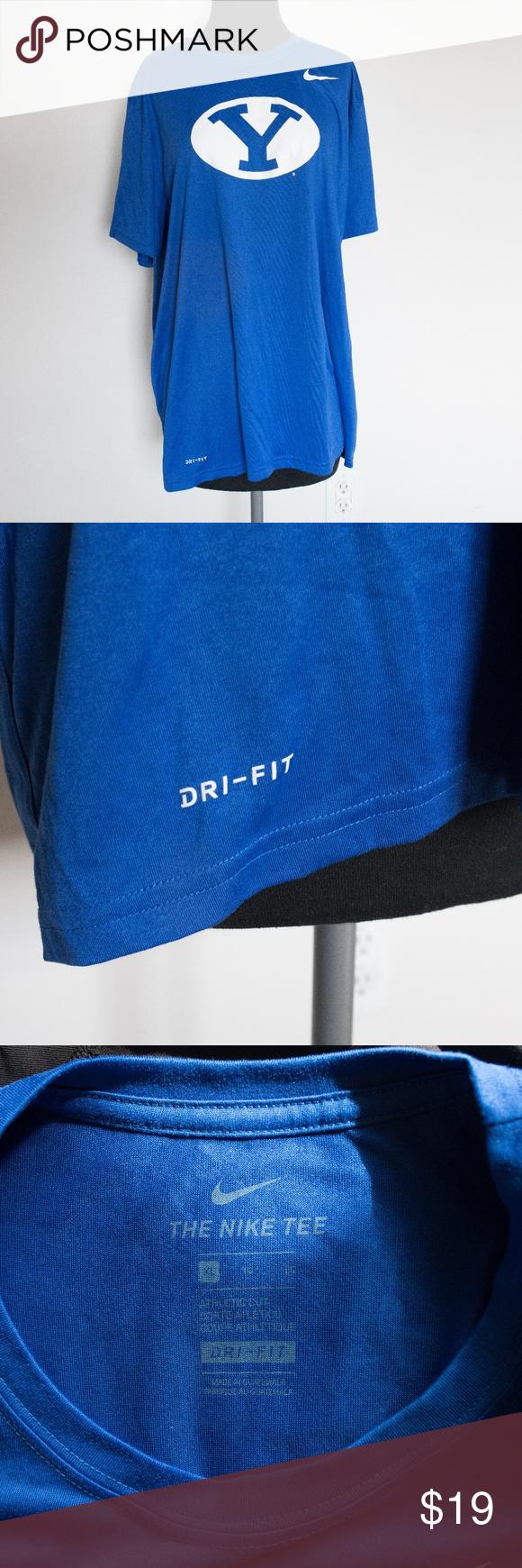 96f4b88b Nike Dri-Fit Oval Y BYU Tee Nike Dri-Fit Oval Y BYU Tee New Condition, no  flaws Nike Shirts Tees - Short Sleeve