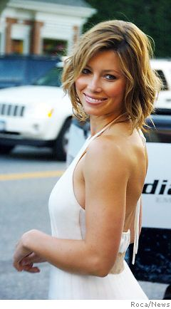 Enjoyable Jessica Biel Short Hairstyles And Hair On Pinterest Short Hairstyles Gunalazisus