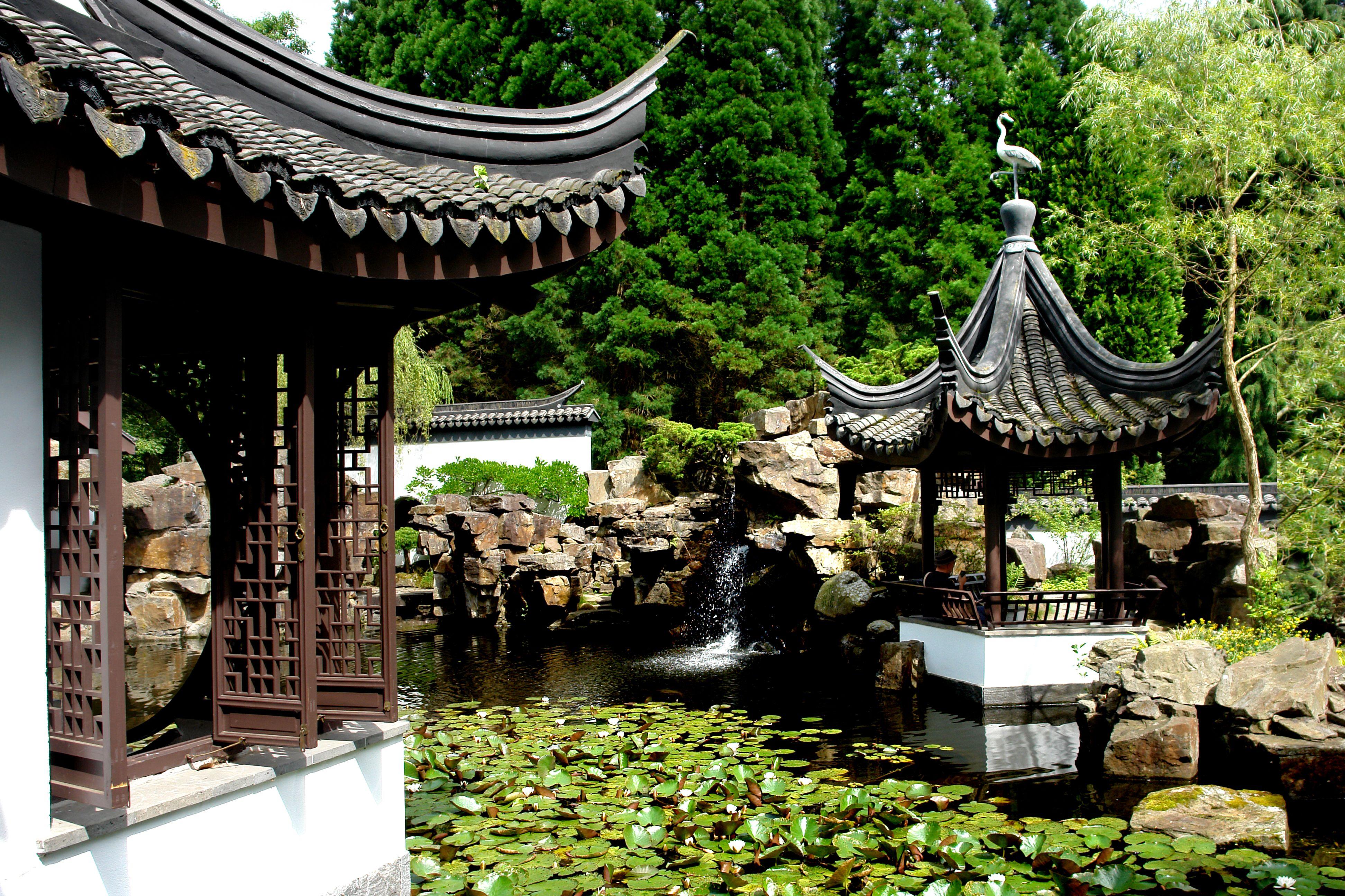 Chinesischer Garten Chinesischer Garten Ruhrgebiet Garten