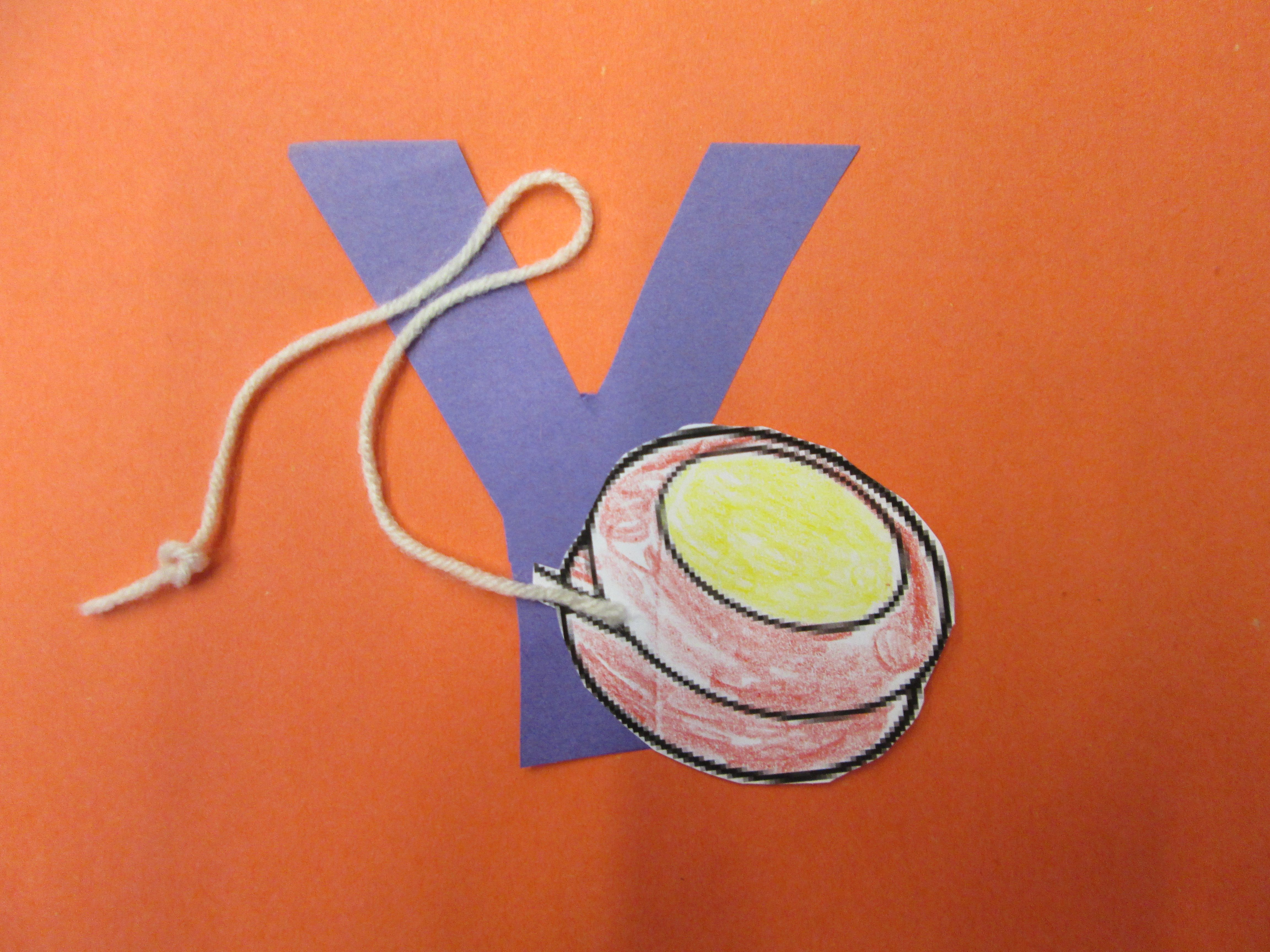 Letter Y Craft