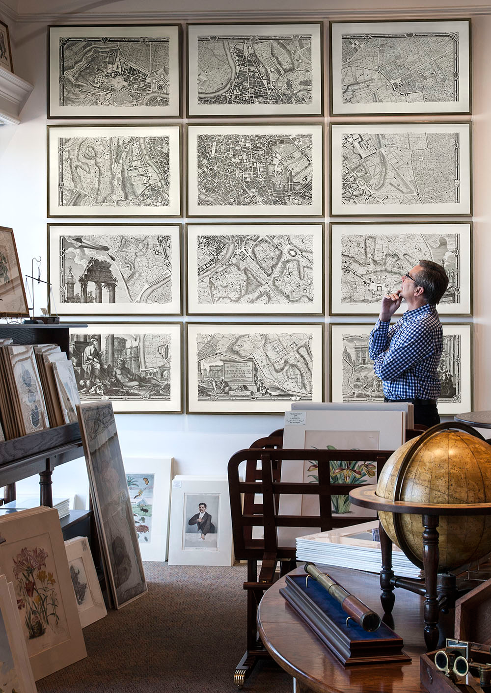 Image Result For Framed Maps In Living Room Framed Maps Custom Framing Rome