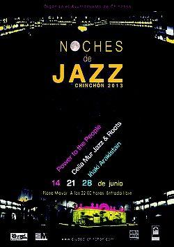 Jazz in Chinchón. 14, 21  28 June.