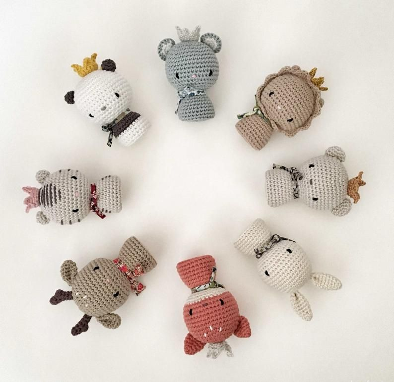 Patron Amigurumi : Panda – Made by Amy | 771x794