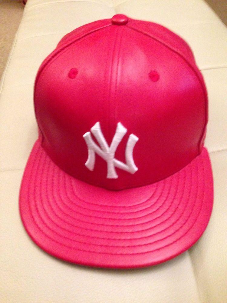 71dc7c84d85 New Era 59Fifty 7 1 4 Baseball Cap Hat NEW YORK Yankees 100% REAL ...