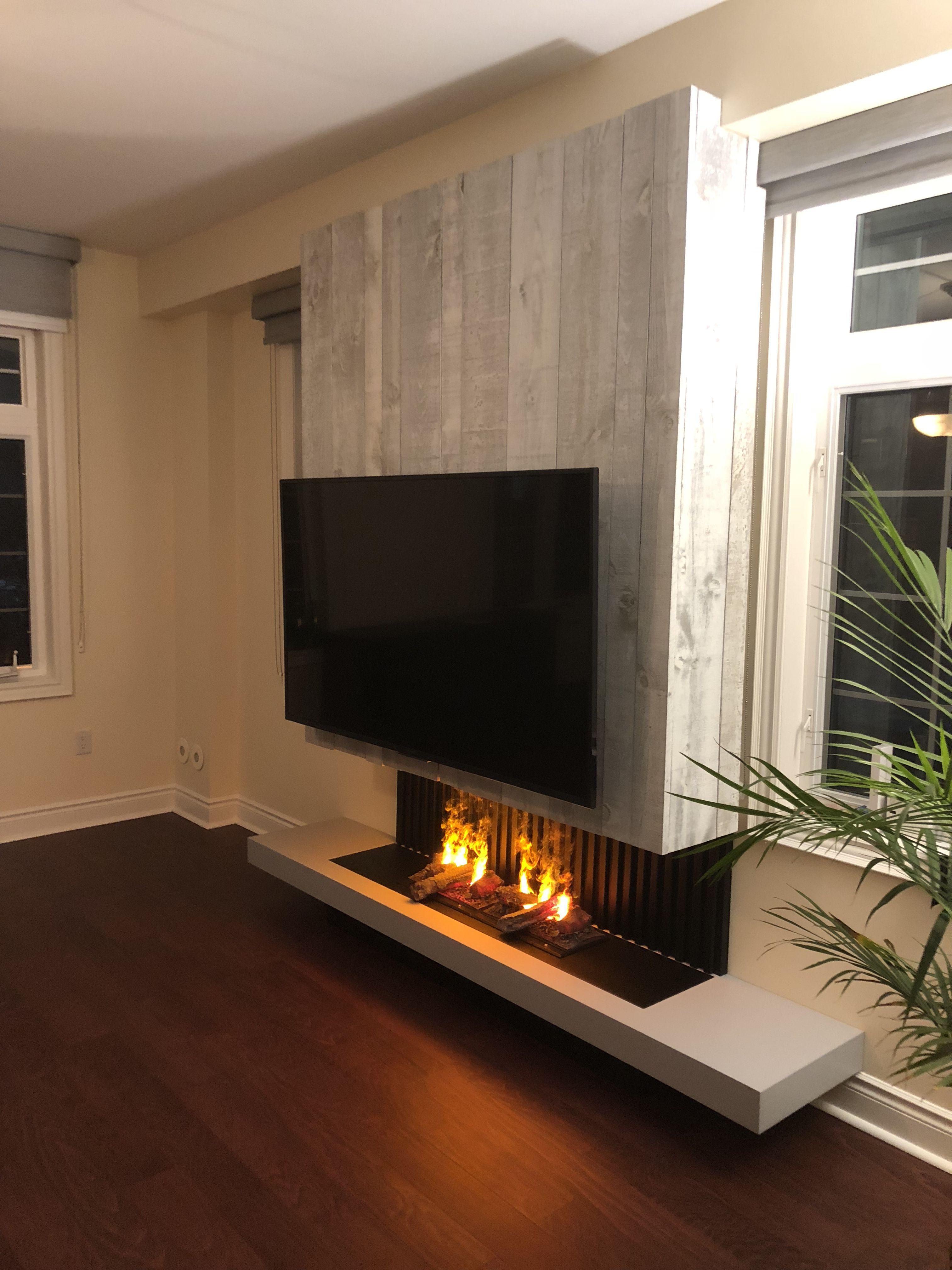 Pin by michel hebert on fireplace in pinterest modern