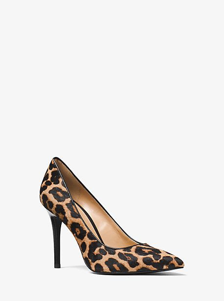 Michael Kors Claire Leopard Calf Hair Pump || affiliate | Shoes | Pinterest  | Leopards, Michael kors and Pumps