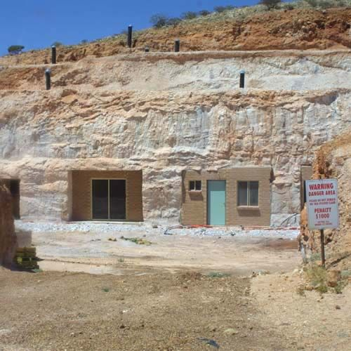 Coober Pedy - underground house for coolth in the desert