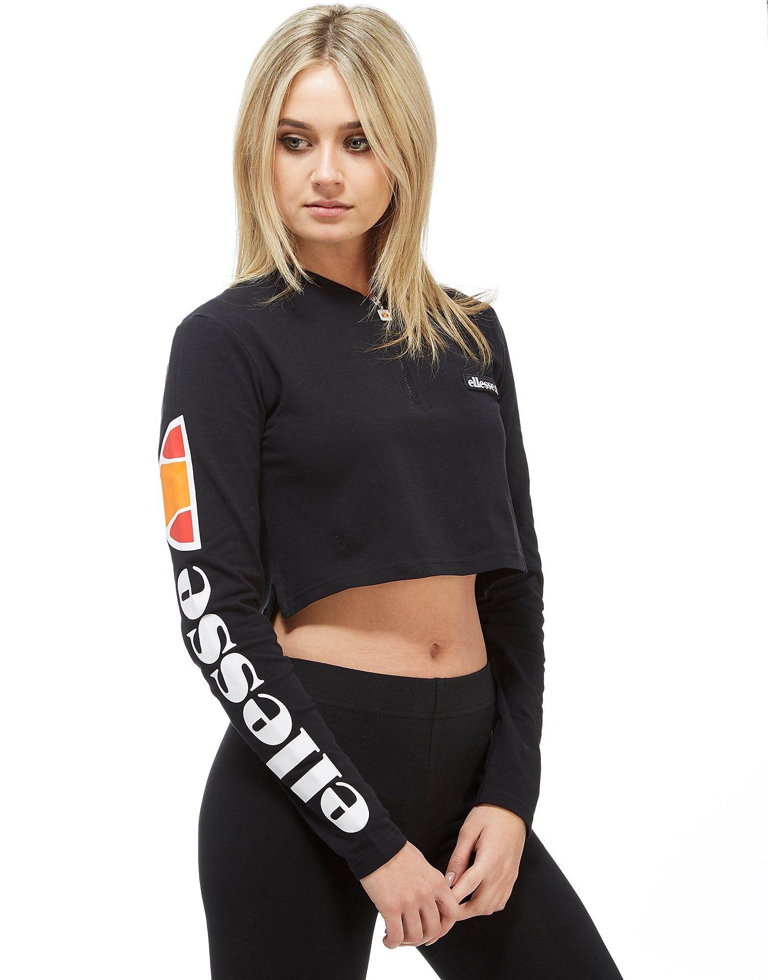 3acea89690 Ellesse Tape Long Sleeve T-Shirt in 2019 | Mode vêtements | Polo ...