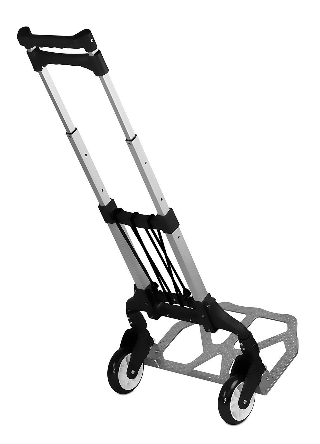 Office Trolley Cart On Mountit Folding Hand Truck And Dolly 165 Lb Capacity Heavyduty