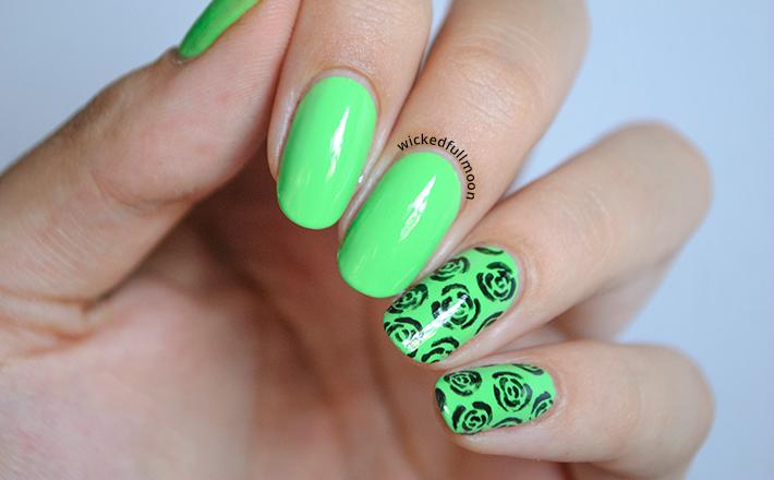 Wicked Fullmoon: | Nail Art | Estampado de rosas Fresca de Masglo ...