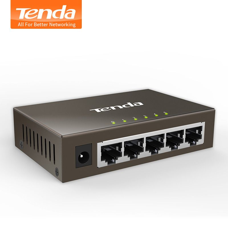Tenda Teg1005d 5 Poort 1000 M Gigabit Ethernet Switch 10 100 1000