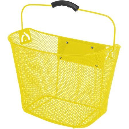 Laundry Bags At Walmart Inspiration Ventura Quickrelease Wire Basket Yellow  Wire Basket Walmart And