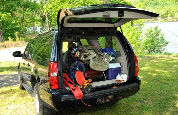 Suv Camping Gear Storage View For More Fantasticgear At