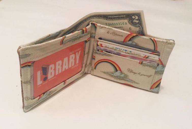 Free Sewing Pattern: Kentucky Bluegrass Wallet | Nähen | Pinterest ...