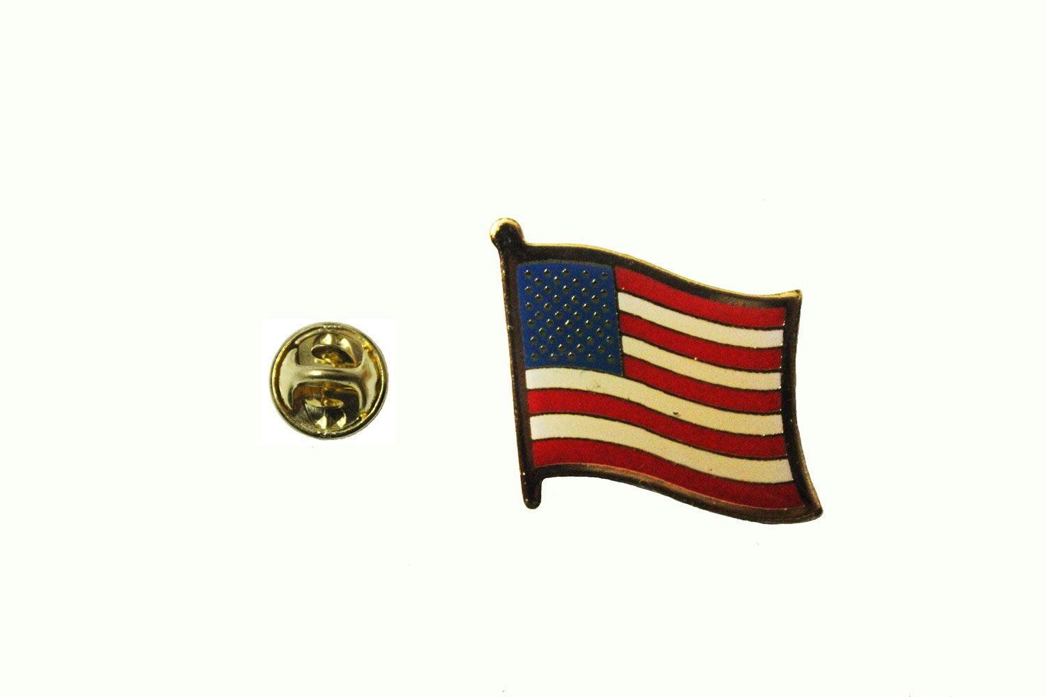 USA UNITED STATES STARS U0026 STRIPES COUNTRY FLAG SMALL METAL LAPEL PIN BADGE  NEW SIZE 1