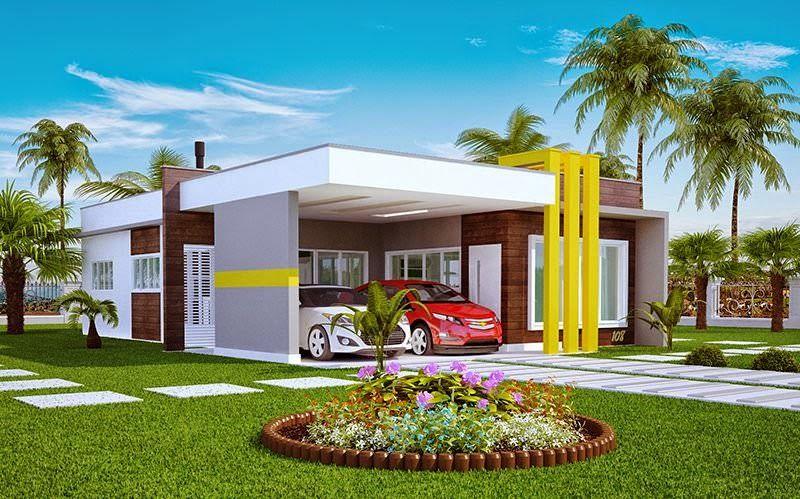 Casas modernas pequenas baratas pesquisa google h o u for Casa moderna baratas