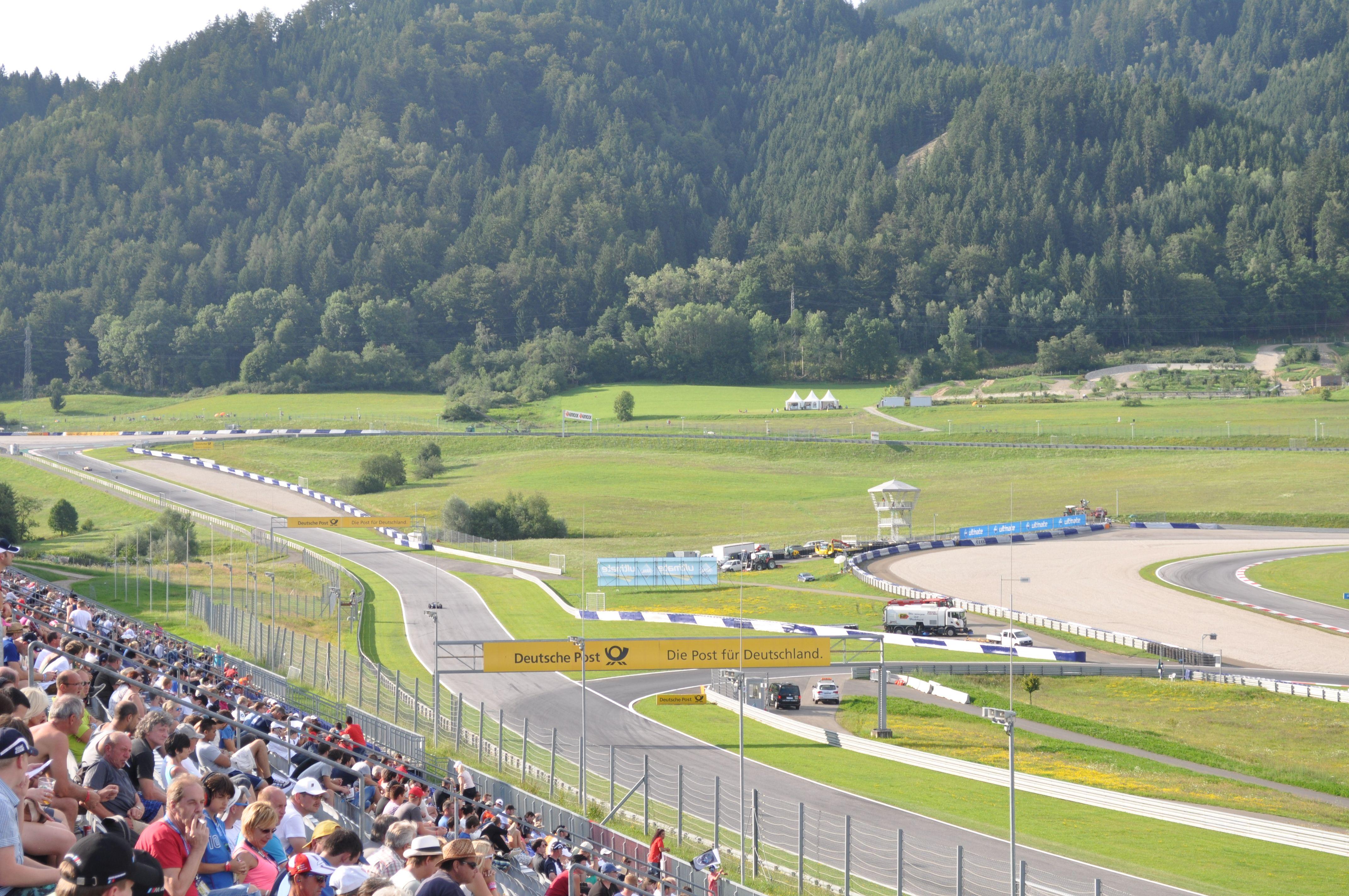 Red Bull Ring Circuit Tyre Changer G1 Sport Ringcircuit
