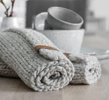 Photo of DIY | Lag strikkede placemats selv – mxliving
