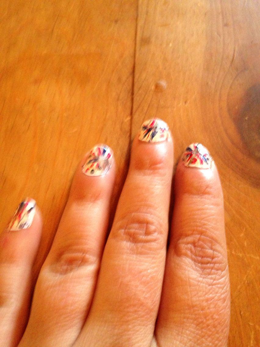 Firecracker nails.
